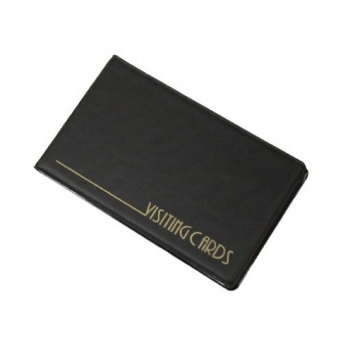 Визитница для 24 визиток PVC (черный) 0304-0001-01