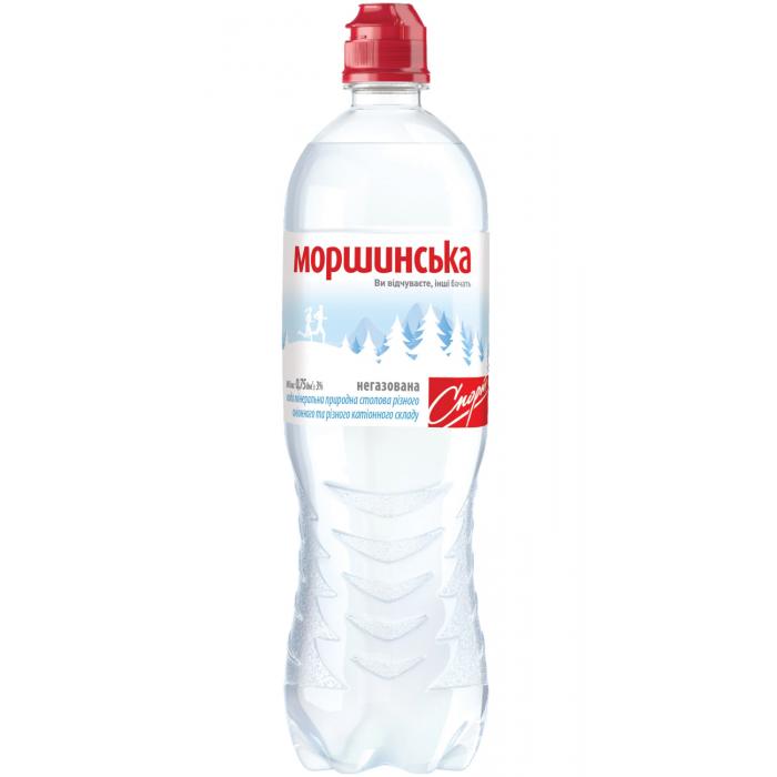 Вода минеральная Моршинская негазированная 0,75 л СПОРТ