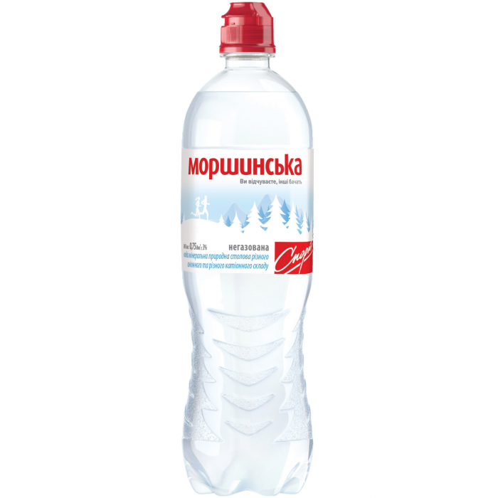 "Вода мінеральна негазована, 0,75л, ""Моршинська"", СПОРТ"
