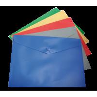 Папка-конверт на кнопці А5 (асорті) bm.3935-99