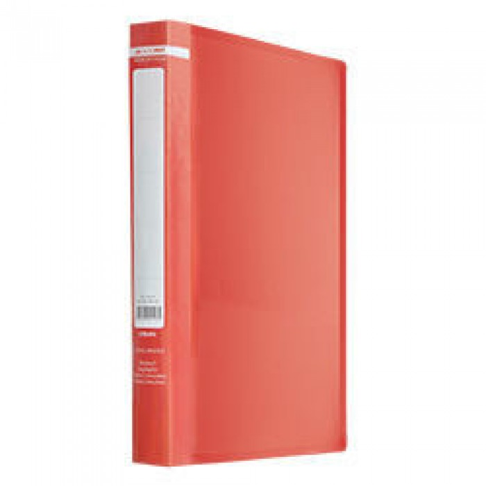 Папка з 2-ма кільцями Jobmax А4 (червоний) bm.3161-05