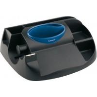 Подставка для офисных принадлежностей Essential Green Maxi (черный с синим)  MP.575100