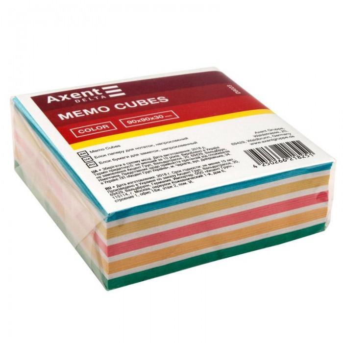 Блок паперу для записів Color 9х9х3см (не склеєний) D8023