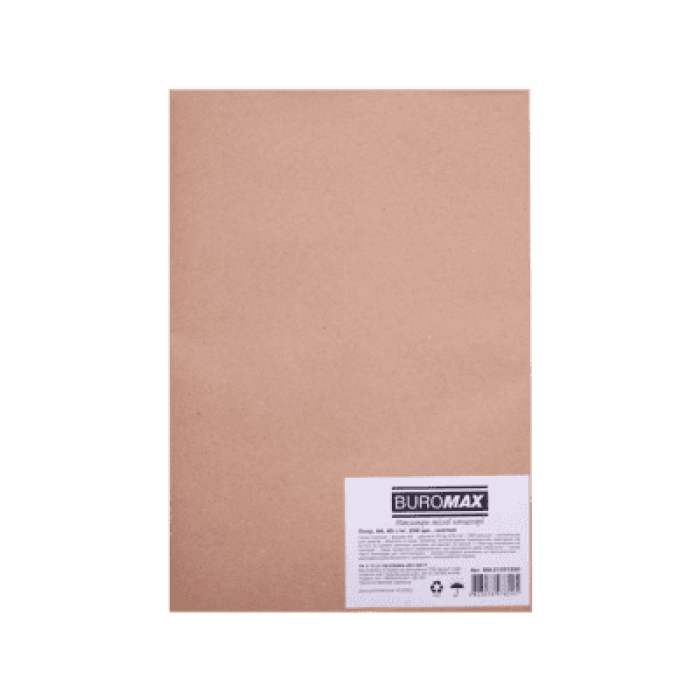 Папір газетний 45г/м2, А4, 250арк