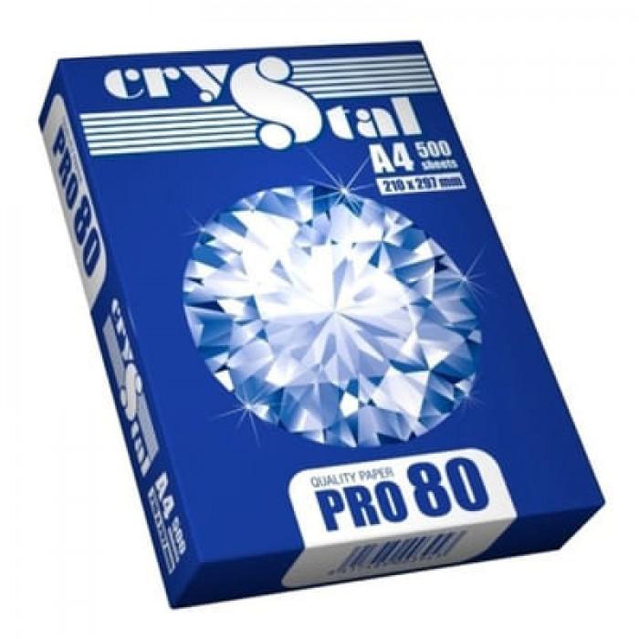 Бумага офисная Crystal Pro А4, 80г/м2, (500л)