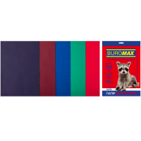 Бумага цветная Dark Mix (5 цветов) А4, 80г/м2, 20л.