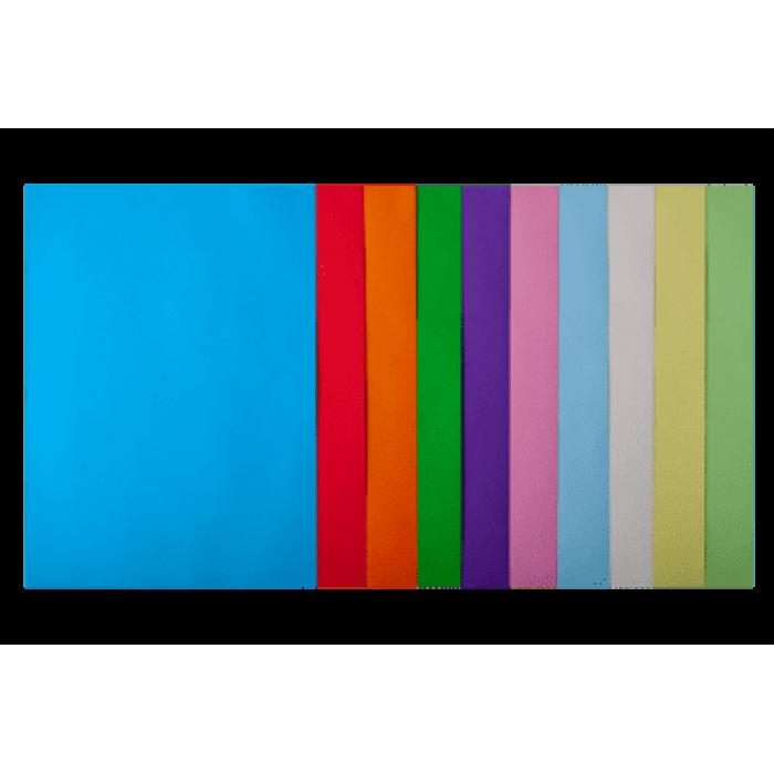 Бумага цветная Pastel+Intensiv (10 цветов) А4, 80г/м2, 50л.
