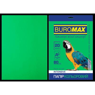 Папір кольоровий Intensiv (зелений) А4, 80г/м2, 20арк.