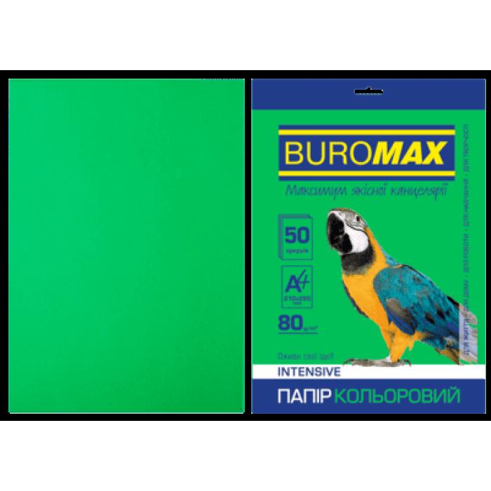 Бумага цветная Intensiv (зеленый) А4, 80г/м2, 50л.