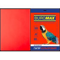 Бумага цветная Intensiv (красный) А4, 80г/м2, 50л.