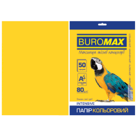 Папір кольоровий Intensiv (жовтий) А4, 80г/м2, 50арк.