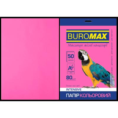 Папір кольоровий Intensiv (малиновий) А4, 80г/м2, 50арк.