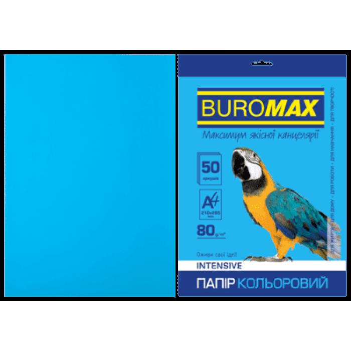 Папір кольоровий Intensiv (світло-синій) А4, 80г/м2, 50арк.