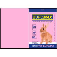 Папір кольоровий Pastel (рожевий) А4, 80г/м2, 20арк.