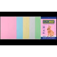 Папір кольоровий Pastel Mix (5 кольорів) А4, 80г/м2, 20арк.
