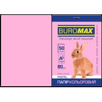 Бумага цветная Pastel (розовый) А4, 80г/м2, 50л