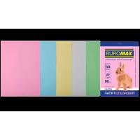 Бумага цветная Pastel Mix (5 цветов) А4, 80г/м2, 50л.