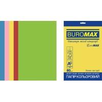 Бумага цветная Euromax Intensiv Mix (5 цветов) А4, 80г/м2, 50л.
