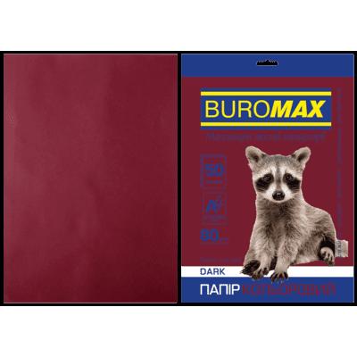 Бумага цветная Dark (коричневый) А4, 80г/м2, 50л.