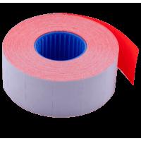Ценник прямоугольный, внутренняя намотка 26х16мм (красный) 1000шт./12м