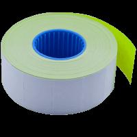 Цінник прямокутний, внутрішня намотка 26х16мм (жовтий) 1000шт./16м.