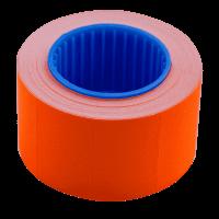 Цінник прямокутний, зовнішня намотка 26х16мм (помаранчевий) 375шт./6м