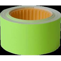 Цінник прямокутний, зовнішня намотка 30х40мм (жовтий) 150шт./4,5м