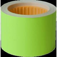 Цінник прямокутний, зовнішнє намотування 50х40мм (желтый) 100шт./4м