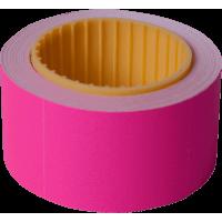 Цінник прямокутний, зовнішня намотка 30х40мм (малиновий) 150шт./4,5м