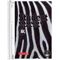 Коледж-блок Premium Zebra клітинка, 80арк. А4