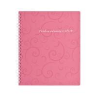 Тетрадь для записей А6  Barocco (розовый) bm.2589-610