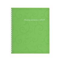 Зошит для записів А6  Barocco  (зелений) bm.2589-615