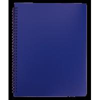 Книга записная  Office А4, 96л. (клетка) синий BM.24451150-02