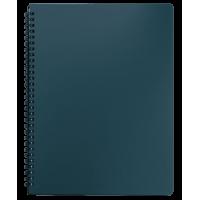 Книга записная  Office А4, 96л. (клетка) зеленый BM.24451150-04