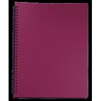 Книга записна Office А4, 96арк. (клітинка) червоний BM.24451150-05