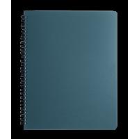 Тетрадь для записей Office А4, 96л. клетка (графит)