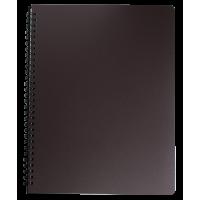 Книга записна Office А4, 96арк. (клітинка) темно-коричневий BM.24451150-19