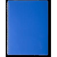 Зошит для записів Gloss А4, 80арк. клітинка (синій)