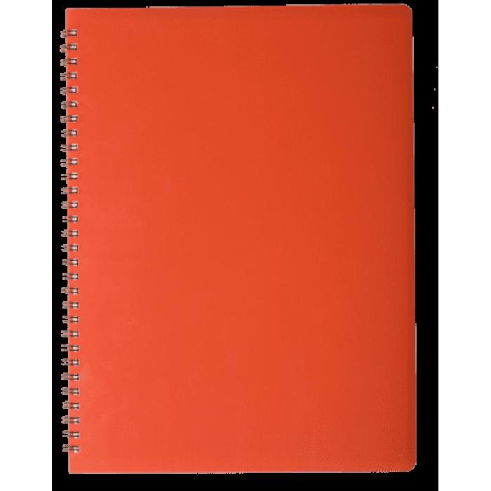 Зошит для записів Gloss А4, 80арк. клітинка (червоний)