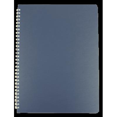 Тетрадь для записей Bark А4, 60л. клетка (синий)