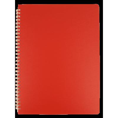 Зошит для записів Bark А4, 60арк. клітинка (червоний)