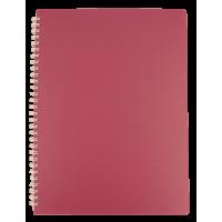 Тетрадь для записей Bark А4, 60л. клетка (малиновый)