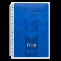 Зошит на спирали Prime  А5, 96 аркушів (бічна спіраль) синій BM.24551101-02