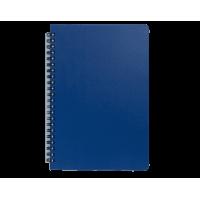 Книга записна на пружині  А6, Office (синій)  bm.24651150-02