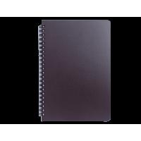 Книга записная Office В5, 96л. (клетка) темно-коричневый  bm.24551150-19