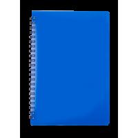 Тетрадь для записей Gloss А5, 80л. (клетка) синий BM.24552151-02