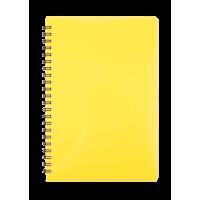 Зошит для записів Gloss А5, 80арк. (клітинка) жовтий BM.24552151-08