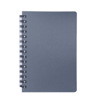 Книга записна Status А6, 80л. (клітинка) графіт BM.24652153-50