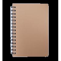 Книга записна Status А5, 80арк. (клітинка) бронза BM.24552153-51
