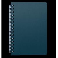 Книга записна Status А5, 80арк. (клітинка) маренго BM.24552153-53